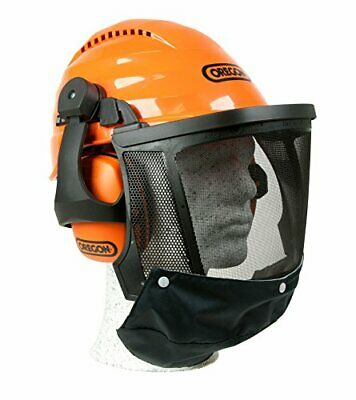 £46.99 • Buy Professional Chainsaw Safety Hard Hat Helmet With Protective Ear Muff And Visor