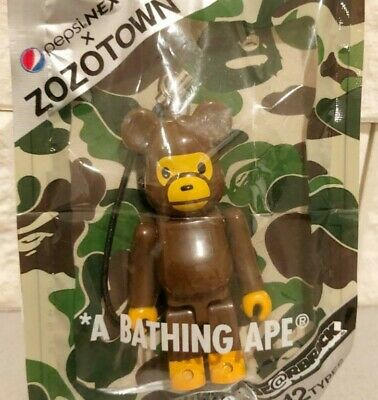 $47.99 • Buy A BATHING APE Be@rbrick X Pepsi Key Chain Bearbrick Strap JAPAN Limted RARE F/S