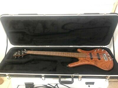 $ CDN1879.50 • Buy WARWICK CORVETTE STANDARD 5 STRING GERMAN BASS BUBINGA WOOD With CASE