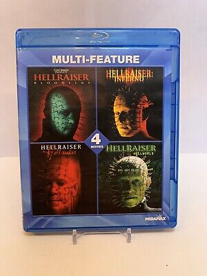 The Hellraiser 4 Movies (Blu-ray Disc • 17.02£