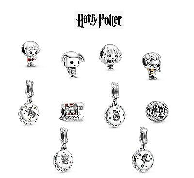 New Authentic Pandora Harry Potter Dobby Hermione Granger Ron Charm Uk With Pouc • 15.99£