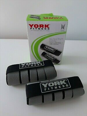 *york Fitness Mini Hand Weights (2x0.5kg) In & Outdoor Home Use Cardio/toning* • 25£