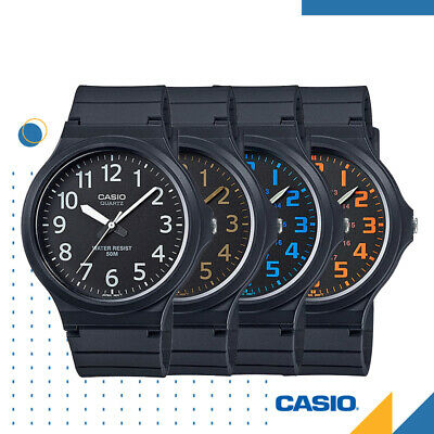 AU26.95 • Buy CASIO MW-240 Genuine NEW Black Casual Mens Watch Analogue Classic FREE SHIPPING