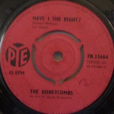 THE HONEYCOMBS - Have I The Right ~ 7  Single • 4.04£