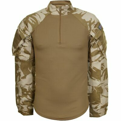 British Army Military Desert DPM UBACS Under Body Armour Combat Shirt Coolmax M • 17.25£