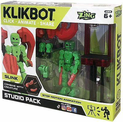 Slink KlikBot Studio Pack Action Figure • 13.43£