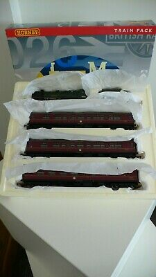 Hornby R2347M BR 'The Manxman' Train Pack Patriot Class  Caenarvon  & 3 Coaches. • 155£