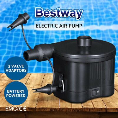 AU19.90 • Buy Bestway Sidewinder D Cell Battery Air Pump Electric For Inflatables Air Bed