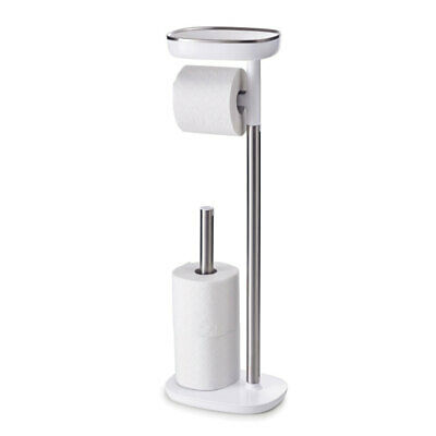 AU90.05 • Buy Easy-Store Toilet Paper Stand/Holder/Rack/Storage Organiser Steel Joseph Joseph