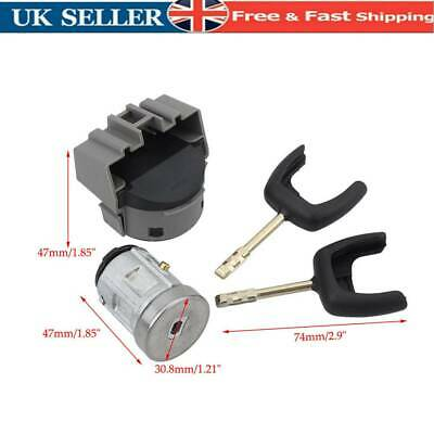 Ignition Switch & Lock Barrel Kit For Ford Transit Focus Fiesta 2002--2008 7 Pin • 15.58£