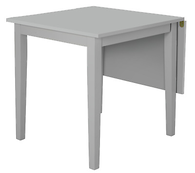 Argos Home Chicago Extending 4 Seater Drop Leaf Dining Table - Grey • 83.32£