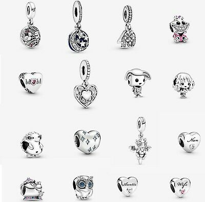 New Authentic PANDORA Charms ALE S925 Sterling Silver With Pouch • 15.99£