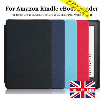 Shell Cover Smart Case For Amazon Kindle 8/10th Gen Paperwhite 1/2/3/4 • 5.25£