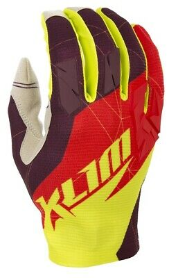 $ CDN34 • Buy Klim Offroad XC Gloves Red Mens All Sizes