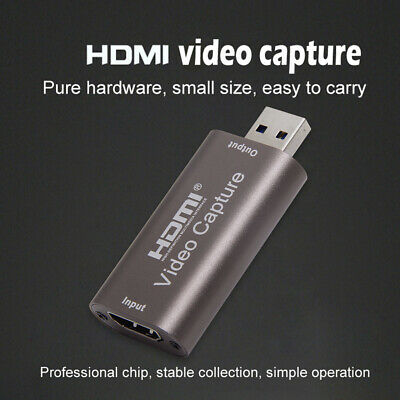 Portable USB 3.0 HDMI Capture Card Video Recording Box For Game DVD Camcorder • 8.85£