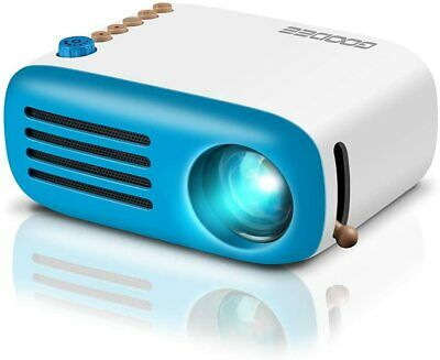 Mini Home Cinema Led HDMI Projector For PC Laptop Iphone Android Smartphone UK • 51.08£