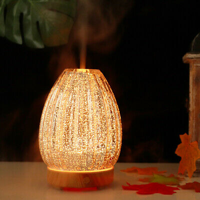 AU38.53 • Buy 3D Aromatherapy Humidifier 7 Color  Glass Lamp Ultrasonic Essential Oil Diffuser