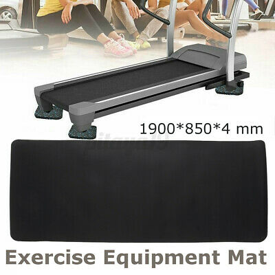 AU25.99 • Buy Treadmill Exercise Mat Sports Gym Yoga Bike Equipment Go Fit Cover