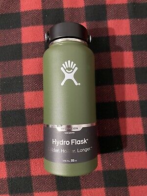 $31.99 • Buy Hydro Flask Wide Mouth Water Bottle - Olive 32 Oz