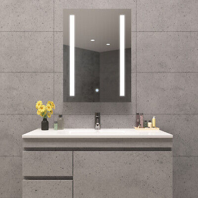 £129.99 • Buy LED Illuminated Bathroom Mirror Cabinet Shaver Socket & Touch Switch Dimmable