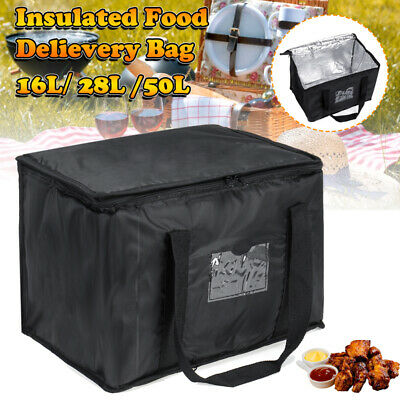 Food Delivery Insulated Bags Pizza Takeaway Thermal Warm/Cold Bag Ruck 3 Styles • 14.49£