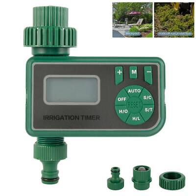 Auto Electronic Water Timer Irrigation Hose Digital Watering Garden Plant System • 18.99£