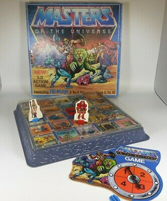 $20.20 • Buy Vintage Masters Of The Universe 3-DAction  Board Game He-Man Golden