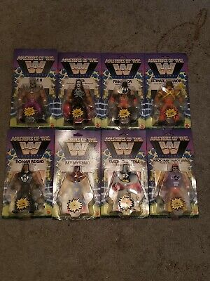 $339 • Buy WWE Masters Of The Universe Complete Set Wave 1 And 2
