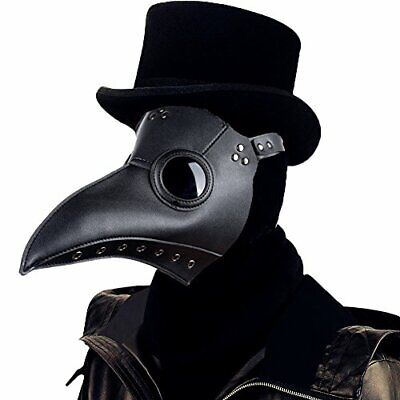 £16.99 • Buy Raxwalker Plague Doctor Mask Halloween Props Costume Steampunk Gothic Cosplay