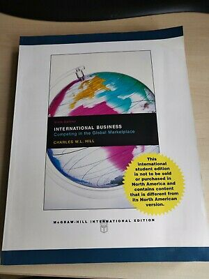 £6 • Buy International Business With Online Learning Center Access Card By Charles Hill