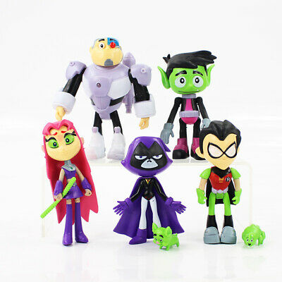£10.99 • Buy 7PCS/Set Teen Titans PVC Go Action Figures Comic Collection Kids Toys Doll Gifts