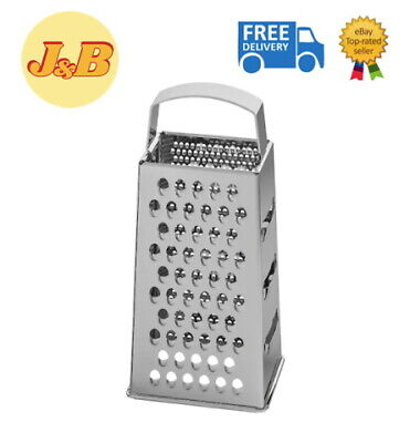 Ikea IDEALISK Cheese Vegetable Grater Stainless Steel Four Shape Dishwasher Safe • 6.99£