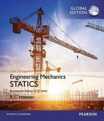 £58.94 • Buy Engineering Mechanics: Statics In SI Units By Russell Hibbeler 9781292089232