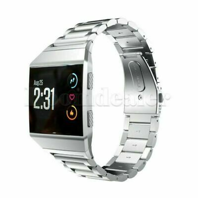 $ CDN20.79 • Buy Stainless Steel Smart Watch Band Strap Bracelet Parts For Fitbit Ionic Tracker