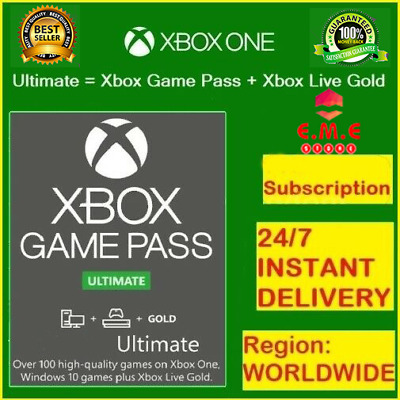 $ CDN2.99 • Buy Xbox Game Pass Ultimate + Live Gold - 14 Days Keys - Global - Xbox One - INSTANT