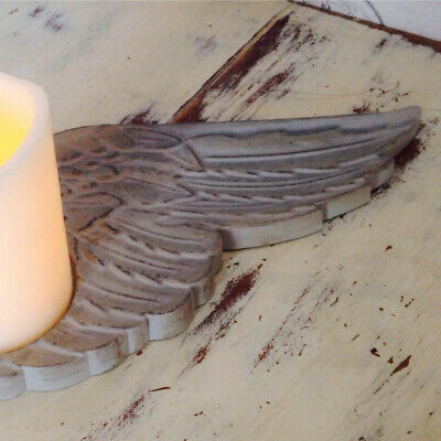 Latex Craft Mould For Making This Beautiful ANGEL WING CANDLE HOLDER • 18.50£