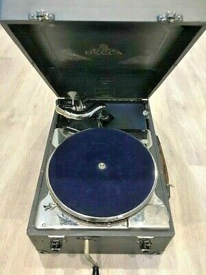 Salon Decca Portable Gramophone  • 250£