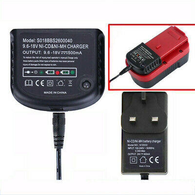 For Black & Decker 18V A1712 A1718 A12 A18 FSB18 Ni-MH .Ni-CD Battery Charger UK • 12.50£