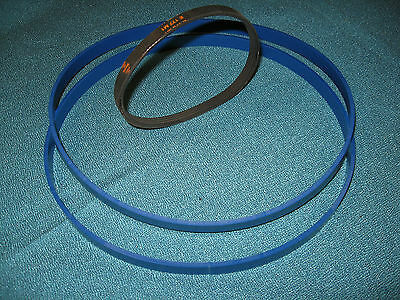 £32.70 • Buy 2 Blue Max Heavy Duty Band Saw Tires And Drive Belt For Nu Tool Mc251 Band Saw