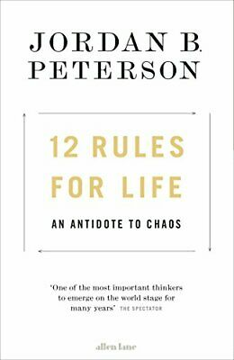 AU30.42 • Buy 12 Rules For Life: An Antidote To Chaos By Peterson, Jordan B. 0241351634 The