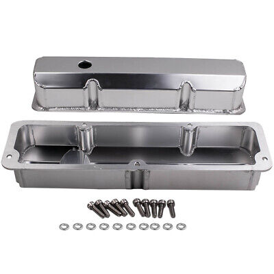 $85.35 • Buy Engines Tall Aluminum Valve Covers Fit Ford FE 1958- 1976, 332, 352, 390-428