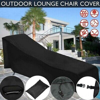 AU23.59 • Buy Waterproof Sun Lounge Chair Dust Oxford Cover Outdoor Garden Patio Furniture AU