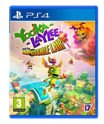 AU27.77 • Buy Playstation 4-YOOKA LAYLEE IMPOSSIBLE LAIR GAME NEW
