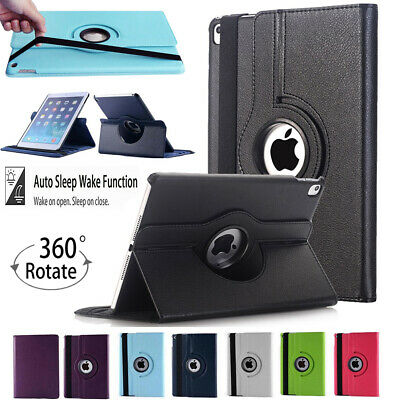 £3.99 • Buy Stylish 360 Rotating PU Leather Smart Case Cover For Apple IPad AIR 1 2 3 10.5