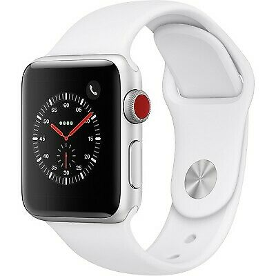 $ CDN178.42 • Buy Apple Series 3 38mm Smart Watch - Silver/White (MTGG2LL/A)