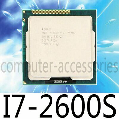 Intel Core I7-2600S 2.80GHz 8M Quad-Core LGA 1155 SR00E CPU Processor • 86.80£