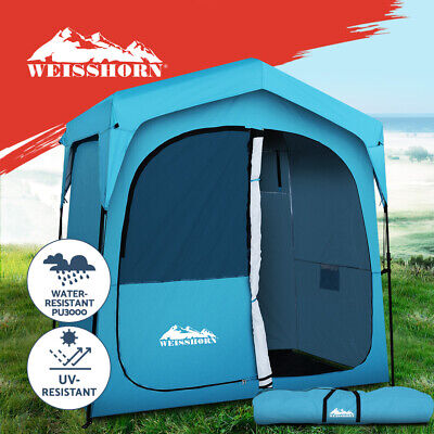 AU153.95 • Buy Weisshorn Extra Fast Set Up Camping Shower Tent Outdoor Toilet Change Room