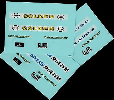 BUDGIE No 236 ROUTEMASTER BUS TRANSFERS/DECALS • 3£