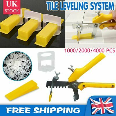 Tile Leveling System Kit Leveler Spacer 1.5mm Wall Floor Construction Tools UK  • 7.99£