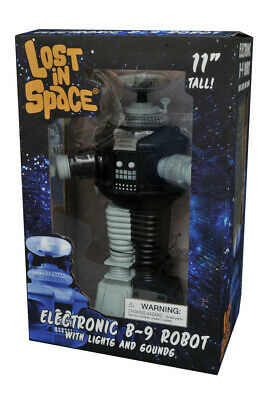 AU147.23 • Buy Lost In Space B9 Robot Antimatter Electronic Action Figure B/W Anti Matter